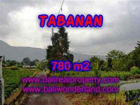 DIJUAL TANAH MURAH DI TABANAN TJTB100 - PELUANG INVESTASI PROPERTY DI BALI