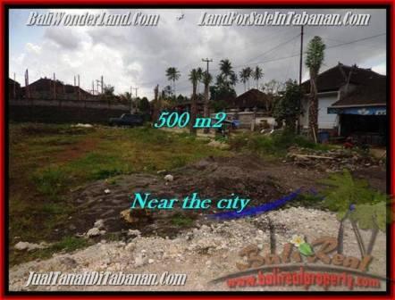 TANAH JUAL MURAH  TABANAN BALI 500 m2  Lingkungan Perumahan