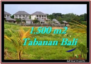 JUAL TANAH di TABANAN 15 Are View sawah, laut dan gunung