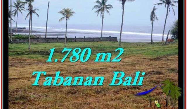 TANAH di TABANAN JUAL MURAH 17.8 Are View sawah, laut dan gunung