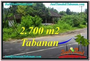 JUAL TANAH MURAH di TABANAN 27 Are View kebun dan sungai