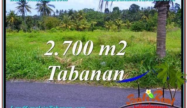 INVESTASI PROPERTI, TANAH DIJUAL MURAH di TABANAN TJTB301