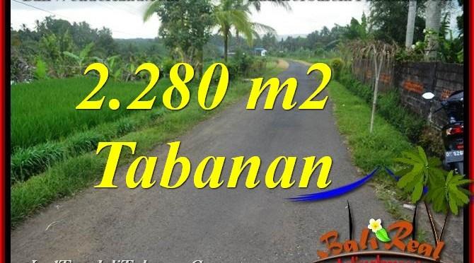 INVESTASI PROPERTI, DIJUAL MURAH TANAH di TABANAN TJTB374
