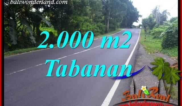 Tanah Murah di Tabanan Dijual 2,000 m2 di Tabanan Selemadeg