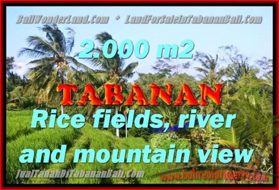 Peluang Investasi Properti di Bali - Jual Tanah murah di TABANAN TJTB147