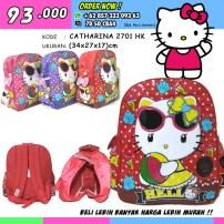 CATHARINA 2701 HK, Grosir Tas Sekolah Hello Kitty Terbaru, Grosir Tas Sekolah Hello Kitty Murah