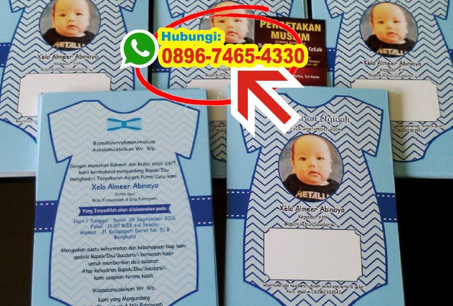 Contoh Undangan Aqiqah Anak Kembar 0896 7465 4330 Wa Undangan Aqiqah
