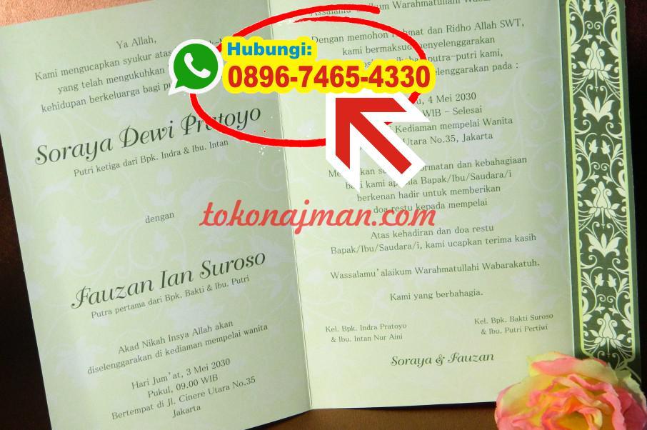 Contoh Teks Undangan Khitanan Bahasa Jawa 0896 7465 4330 Wa