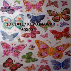 3d-cla117-kupu-wallsticker-ecer-grosir-untuk-dekor-kamar-ruang-tamu-kamar-bayi-085776500991-bu-eva