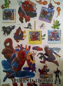 3d-frame-spiderman