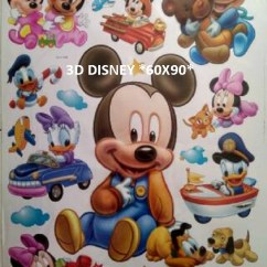 cla035 3d disney 3D Wallsticker kamar anak, grosir untuk dekor kamar, ruang tamu, kamar bayi. 085776500991-bu Eva