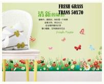 Fresh Grass-AY7186 Wallsticker ecer, grosir untuk dekor kamar, ruang tamu, kamar bayi. 085776500991-bu Eva