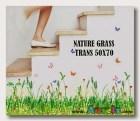 Nature Grass-AY7151- Wallsticker ecer, grosir untuk dekor kamar, ruang tamu, kamar bayi. 085776500991-bu Eva