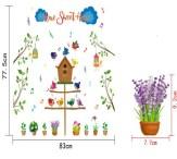 sk7079 Wallsticker ecer, grosir untuk dekor kamar, ruang tamu, kamar bayi. 085776500991-bu Eva