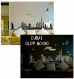 Dubai Glow abq9616y Wallsticker ecer, grosir untuk kamar, ruang tamu, bayi