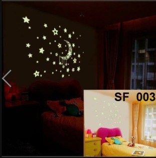 SF-003 Jual Wall Sticker Murah, ecer dan grosir untuk kamar, ruang tamu, dapur, kamar bayi. Hub.Ibu Eva 085776500991