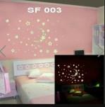 SF003 Jual Wall Sticker Murah, ecer dan grosir untuk kamar, ruang tamu, dapur, kamar bayi. Hub.Ibu Eva 085776500991