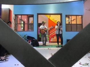 """Gina Francisco sings """"Babae"""", an Inang Laya original. Guitar by Louie Eslao."""