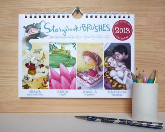 Storybook Brushes 2013 Calendar Giveaway - Wall Calendar