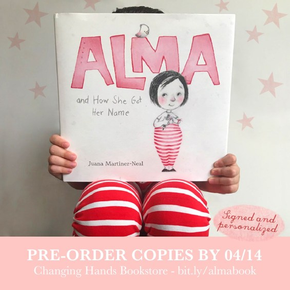 Pre-order signed copies of Alma
