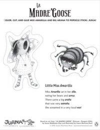La Madre Goose - Paper Puppets