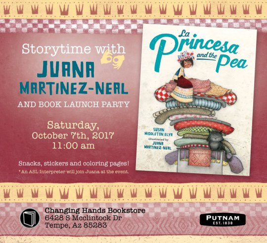 LA PRINCESA AND THE PEA  Storytime and Book Launch Party