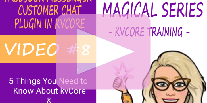 How to Install the Facebook Messenger Customer Chat Plugin in kvCore