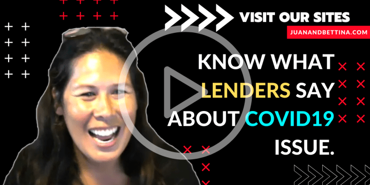 Know what lenders say about COVID19 Issues