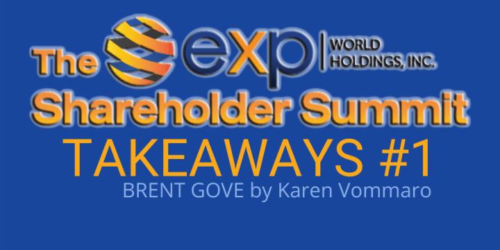 Shareholder Summit TAKEAWAY #1