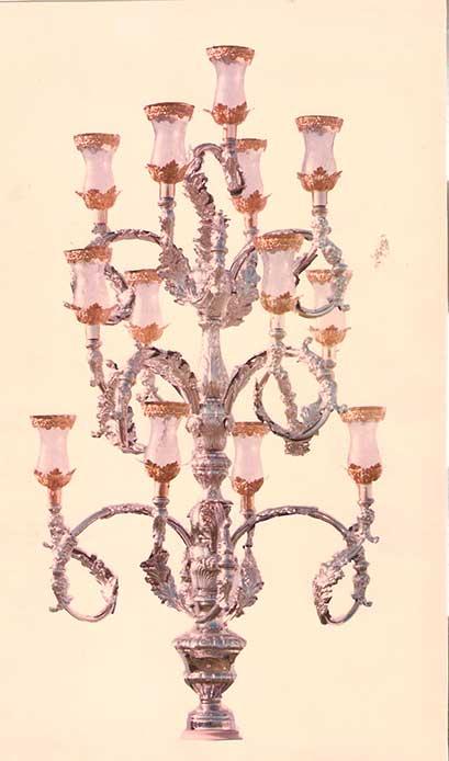 Candelabro tronco 13 luces Image