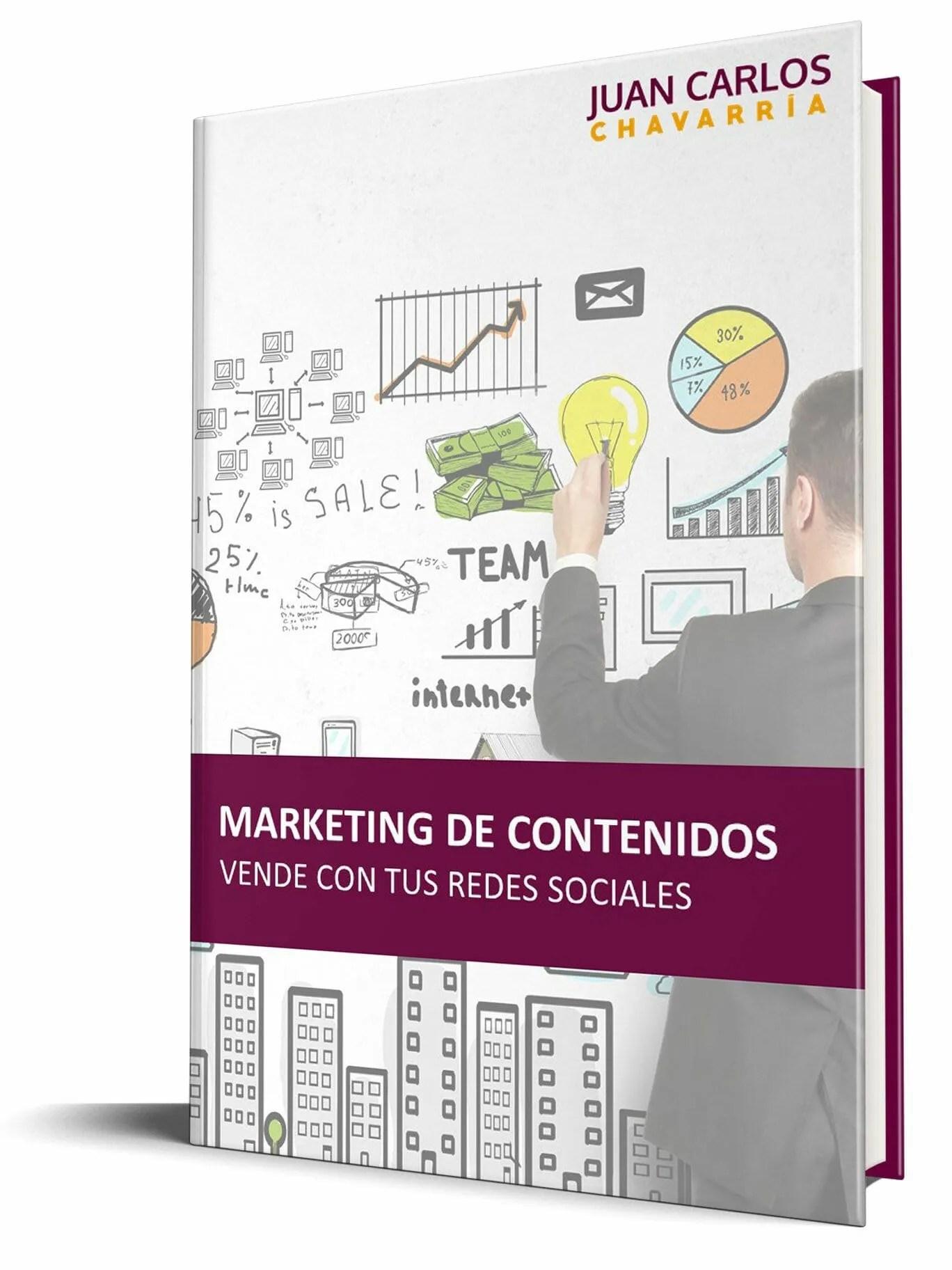Ebook Marketing de contenidos, Vende con tus redes sociales