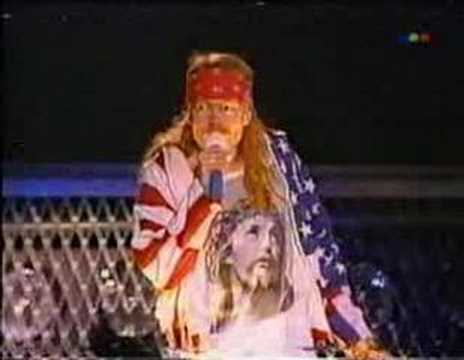 Guns N' Roses 1992, Chile-Argentina (2/5)