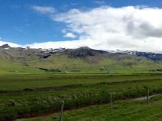 Eyjafjallajökull en la distancia