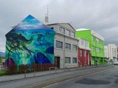 Grafiti camino del puerto