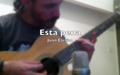 Esta pena (guitarra acústica)