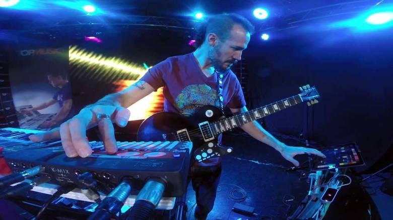 dada en vivo en Music Club MX