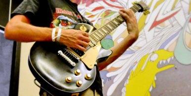 Juan Carrizo   dada en Salvador do Bahia 7 - Un guitarrista de rock