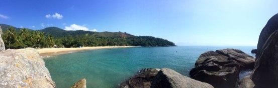 Viajes - Ilhabela- Jabaquara desde el acantilado