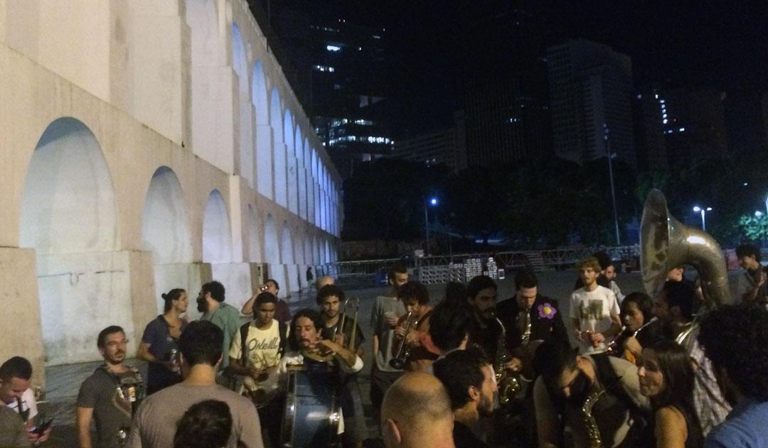 Juan Carrizo - Rio - musica en las calles de Lapa