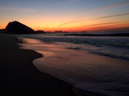 Juan Carrizo - Rio - Amanecer en Copacabana