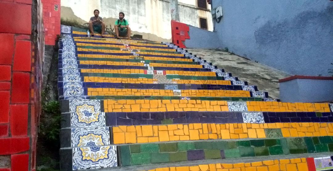 Juan Carrizo - Rio - Escalera de Selaron