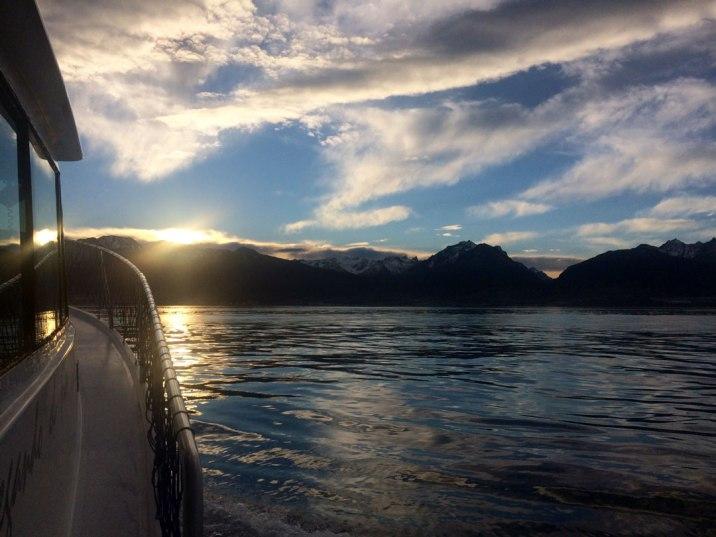 Ushuaia - Canal de Beagle - Desde el barco