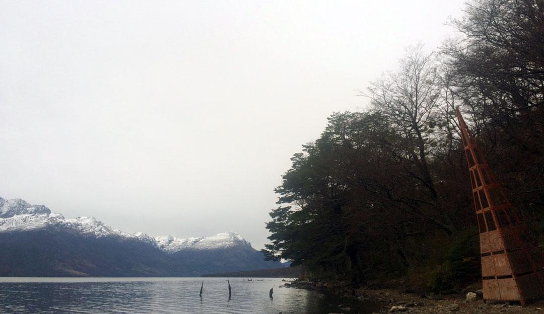 Ushuaia - Bahia de Lapataia - Hito 24, limite con Chile