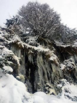 Ushuaia - Glaciar Martial - Cascada congelada