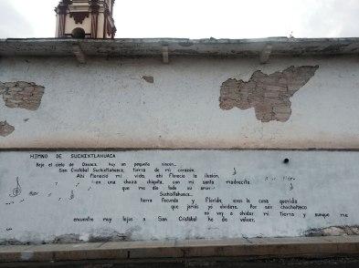 Juan Carrizo | Viajes - El himno de Suchixtlahuaca