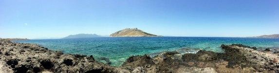 Juan Carrizo | Viajes - Una de las playas de Aegina