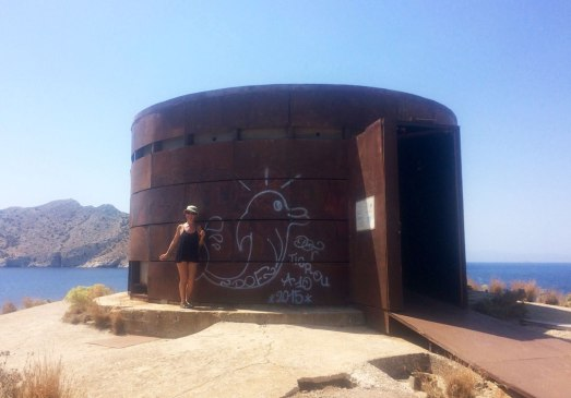 Juan Carrizo | Viajes - una cámara oscura en Aegina