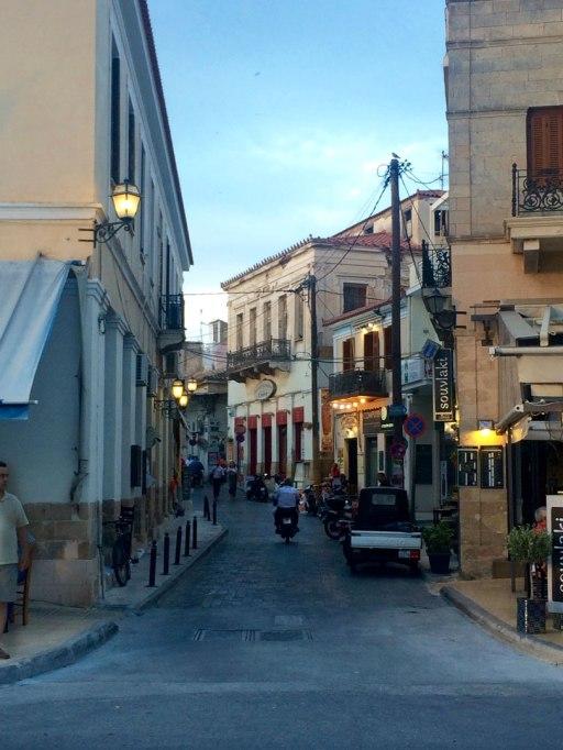 Juan Carrizo   Viajes - por las calles de Aegina