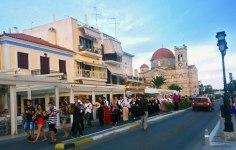 Juan Carrizo | Viajes - un desfile cultural en Aegina