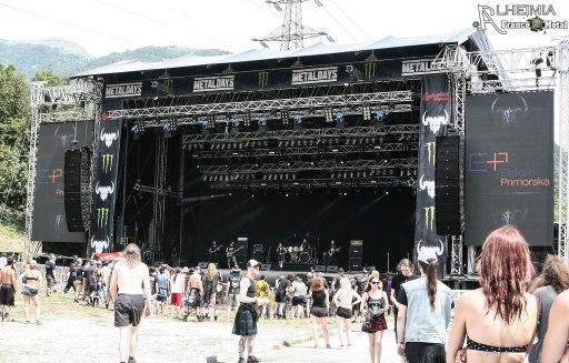 Juan Carrizo | ZiX @ Metal Days 2016 - stage